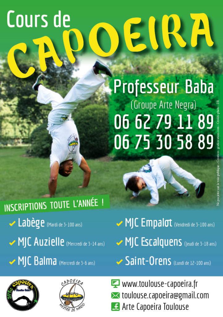 capoeira Toulouse, Labège, Saint Orens, Balma, Auzielle et Escalquens