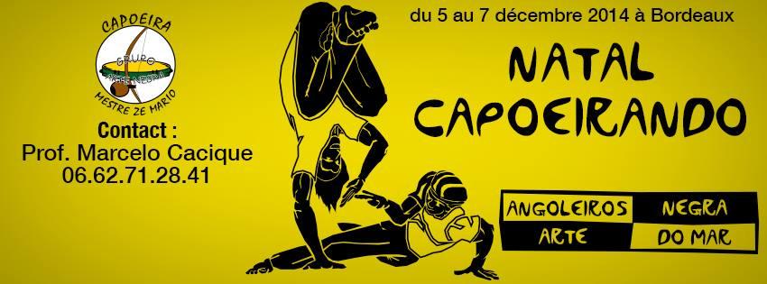 évènement capoeira bodeaux natal