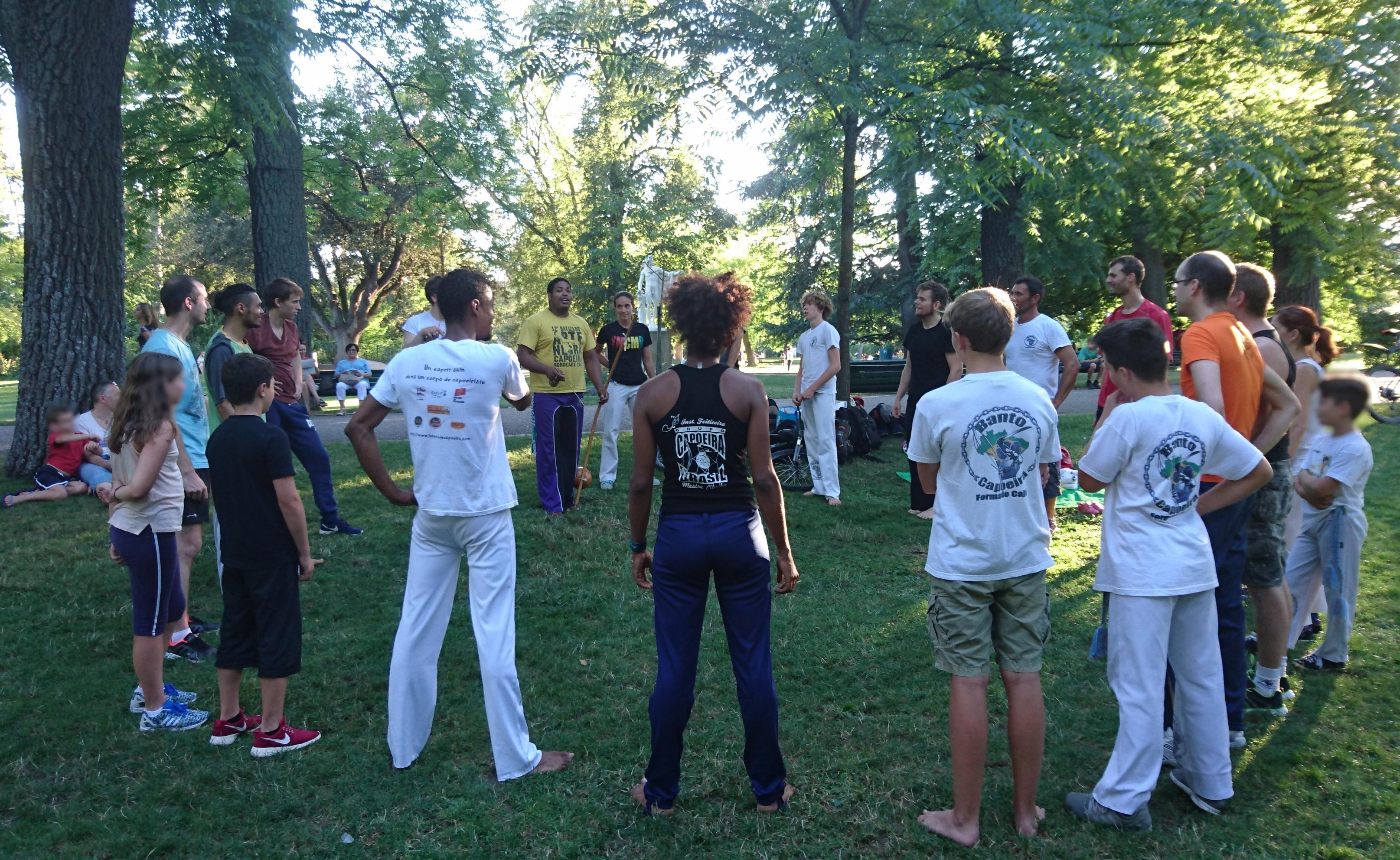 cours d'été capoeira Labège