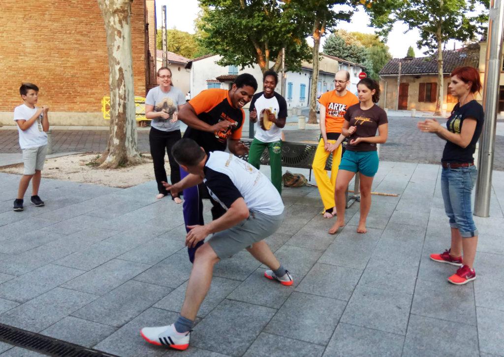 cours d'été de capoeira à Labège