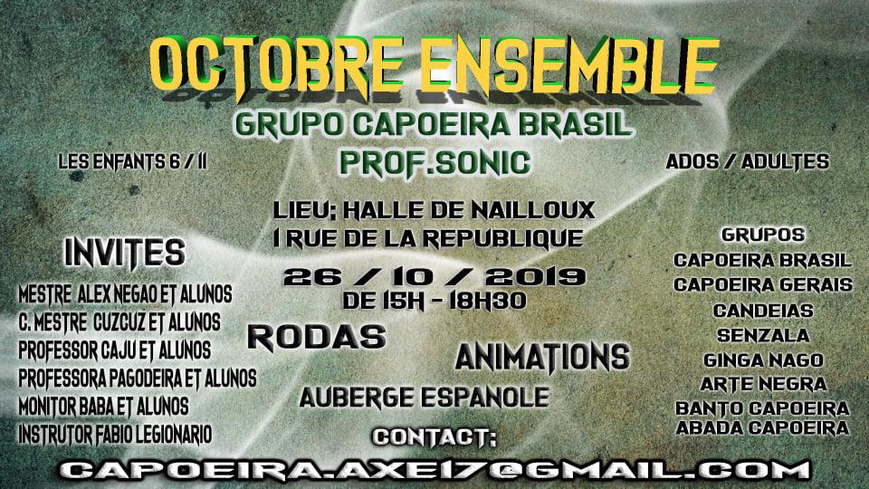Stage enfant capoeira à Nailloux