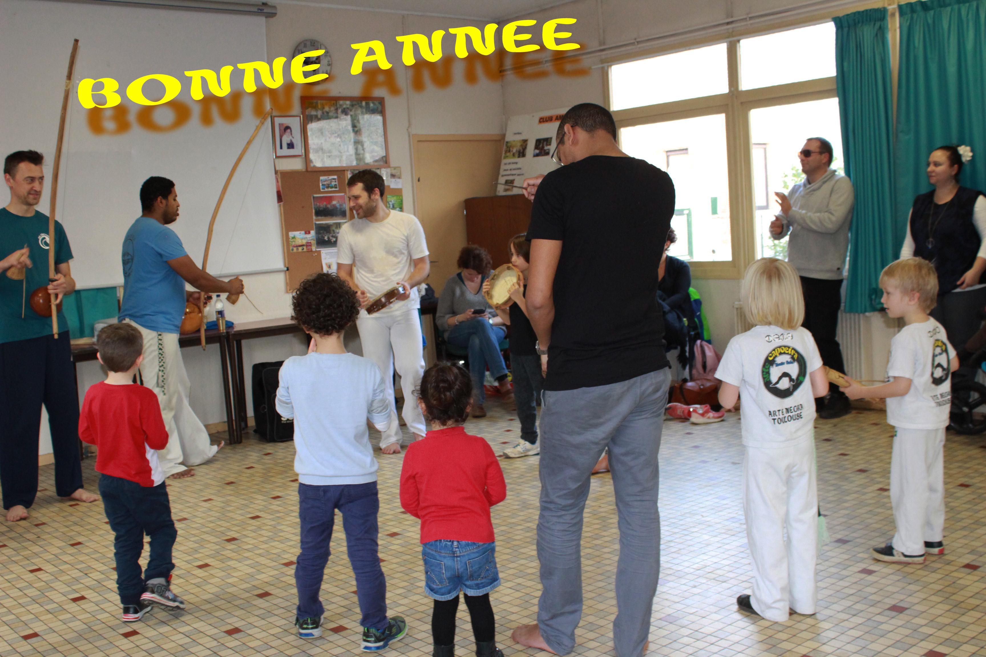 Capoeira labège et bonne année
