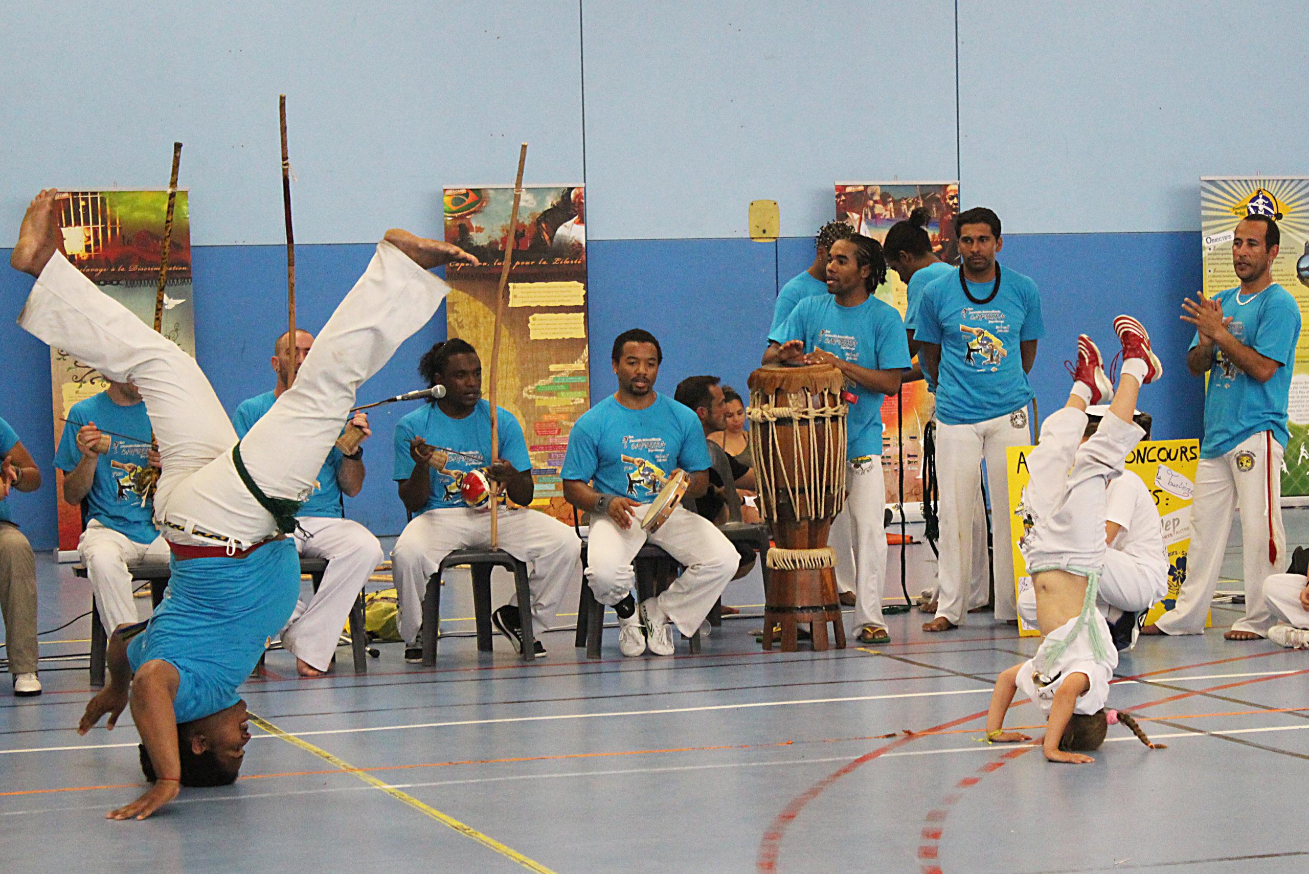 2014 - Baptême de capoeira de Pau