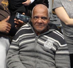 Mestre Zé Mario créateur du groupe de capoeira Arte Negra